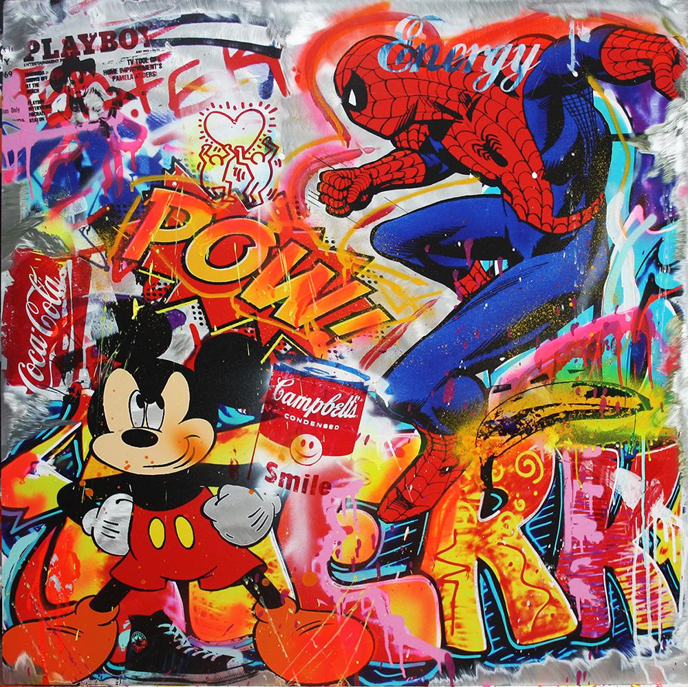 Pop Art Bilder - Gemälde Popart Comic
