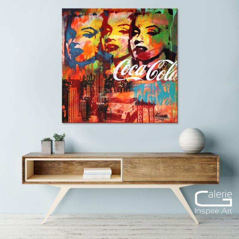 Neue Pop Art Kunst