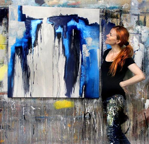 abstrakte Malerei neu