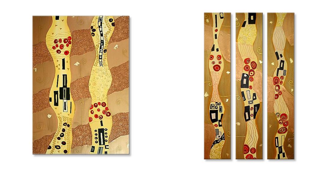 Gemälde modern Gustav Klimt