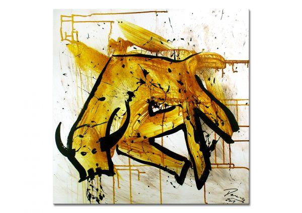 """""""Taurus"""" - moderne Kunst - abstrakte Malerei"""