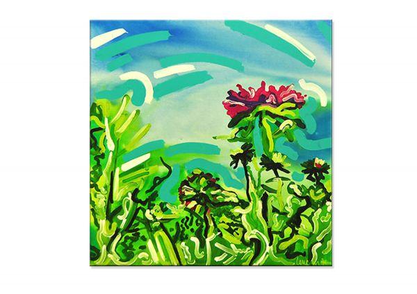 """Florales Unikat """"FLOWERS II"""" TOP Galerie Gemälde Acrylmalerei"""