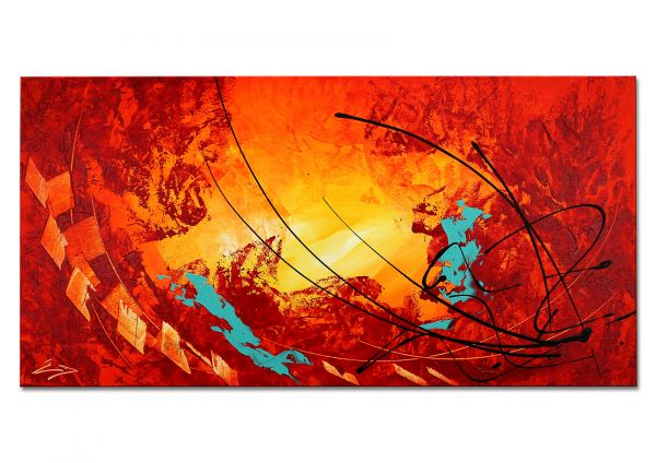 """Malerei auf Leinwand abstrakte Kunst, Etienne Donnay: """"Emotion"""""""