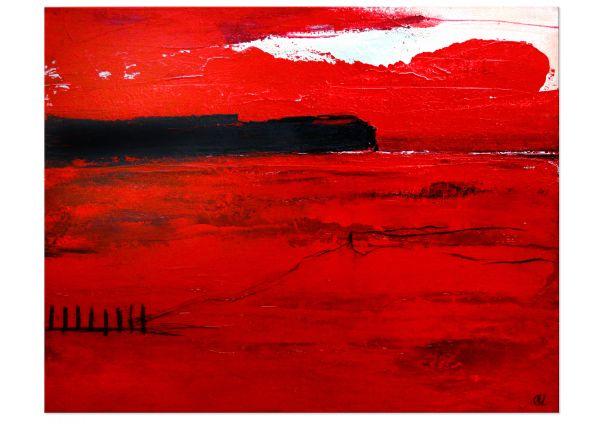 Gemäldekunst rot
