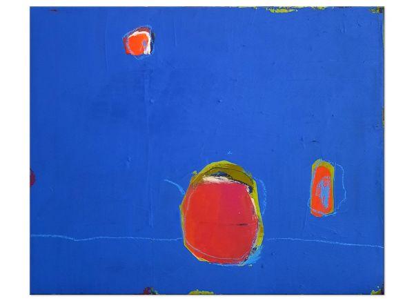 wachsmann acryl blaue Bilder Stillleben
