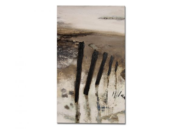 Strandszene Gemälde Niehoff