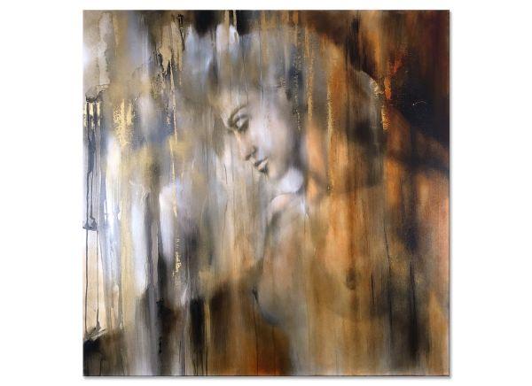 Akt Malerei Portrait Gemälde Öl