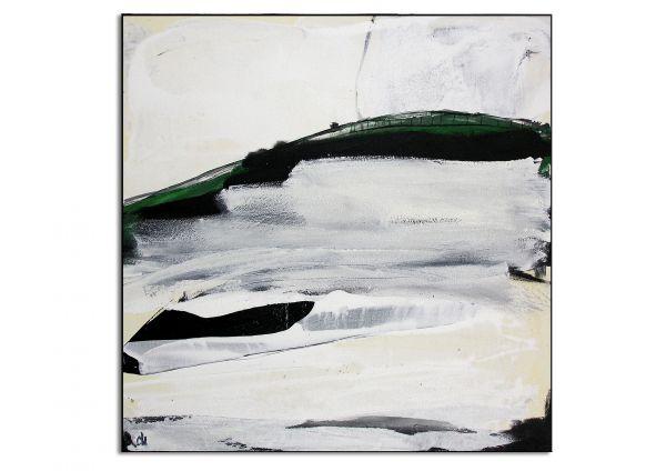 "Abstraktes Acrylgemälde, Galeriebild, Conny Wachsmann: ""Rasten"""