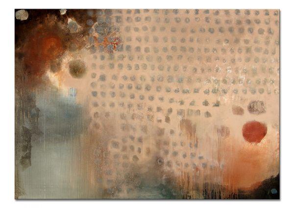 "Abstraktes Wandbild kaufen, Conny Niehoff: ""Novemberregen"""