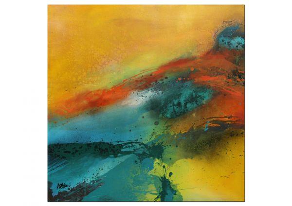 Goldstrand Kunst Gemälde