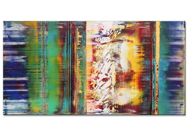 abstrakte Acrylgemälde Verlangen
