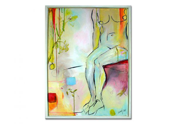 """Moderne Gemälde, Y. Losaij: """"Zeitreise"""""""