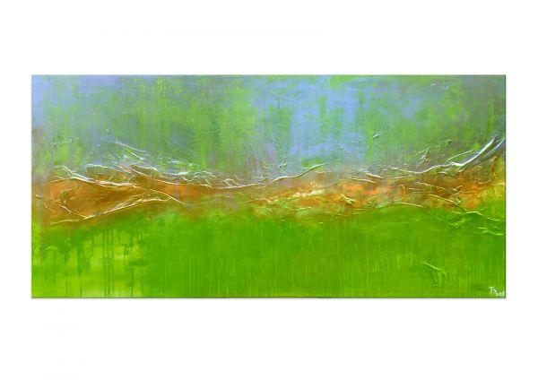 "Modernes Acrylgemälde, Thomas Stephan: ""Greensleaves"""