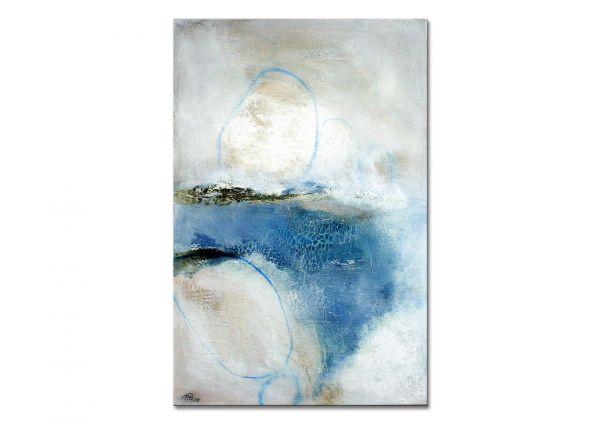 """Moderne Kunst kaufen, Manuela Pilz: """"Schneeland II"""""""