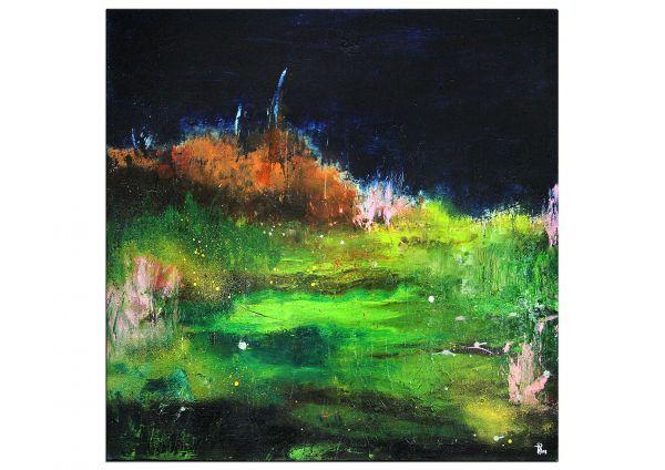 abstrakte Bilder, Eine Nacht im Frühling