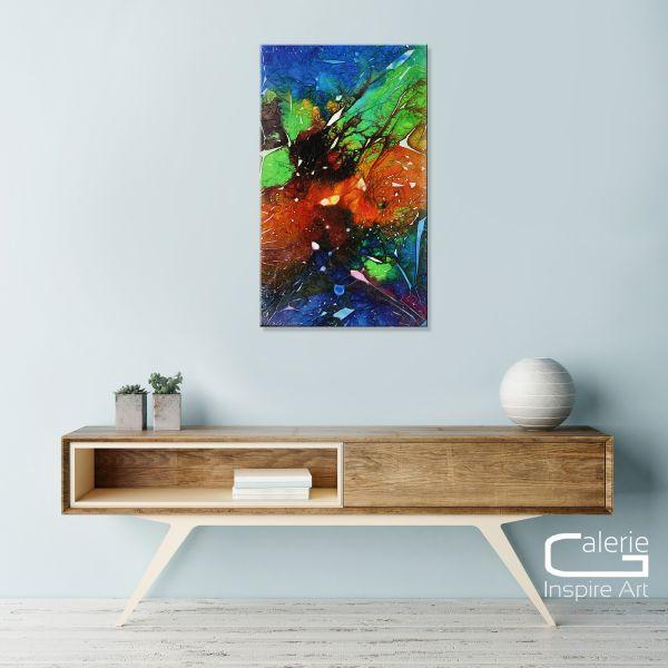 """Galerie Kunst kaufen: Dieu """"Escape"""" Acrylgemälde"""