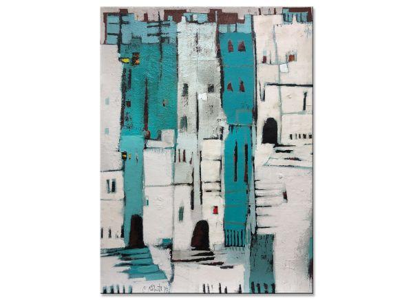 Altstadt Gemälde türki Conny Niehoff
