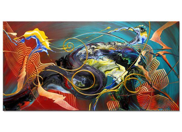 abstrakte Acrylbilder Calico