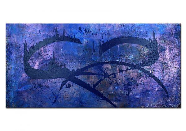 """""""Gedankenwege"""" - Galerie Ausstellungswerk - Malerei abstrakt"""
