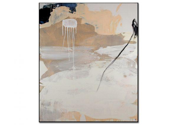 """Acrylmalerei, C.Wachsmann: """"Sich seinen Freiraum angeln Nr. 4"""""""