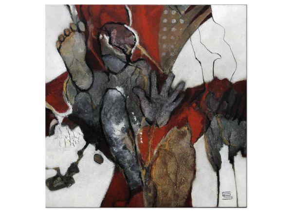 schmalfeldt figürlich abstrakt malerei