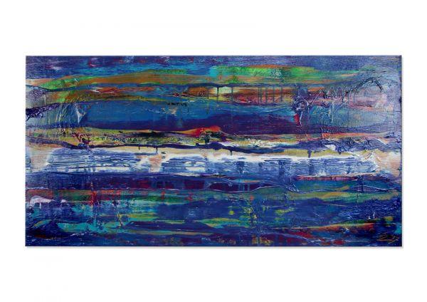 """Abstrakte Acrylbilder Kunst kaufen, E.Donnay: """"Cristal Waters"""""""
