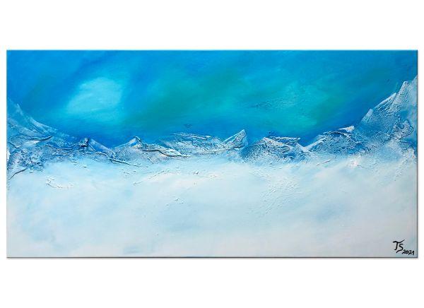 Eismeerküste-kunst-bild
