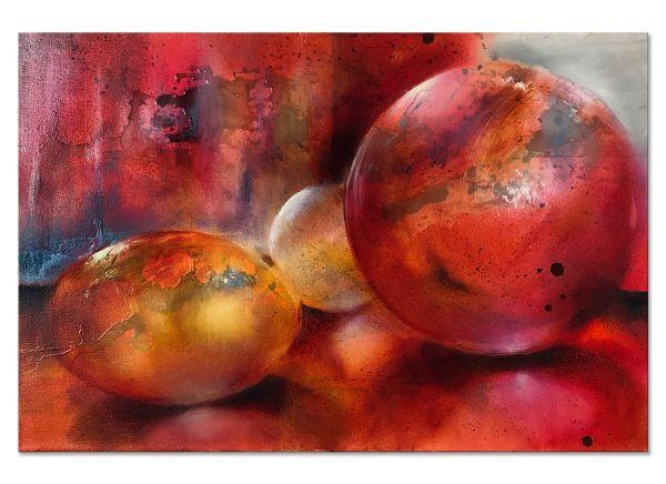 Gegenständliche Kunst Ölbilder Glasperlenspiel