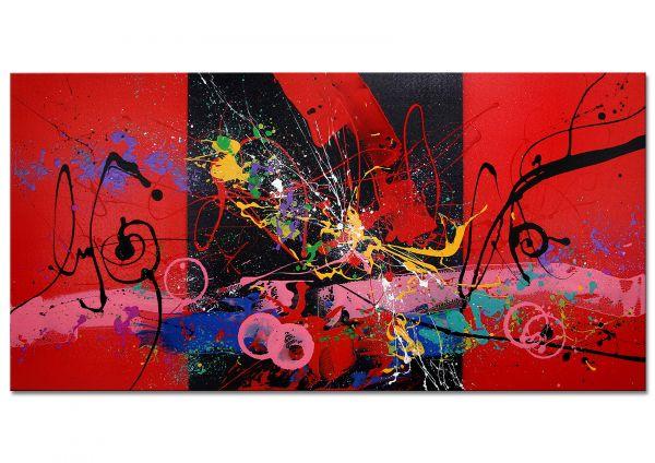 """Moderne abstrakte Kunst """"Sensual Mood"""""""