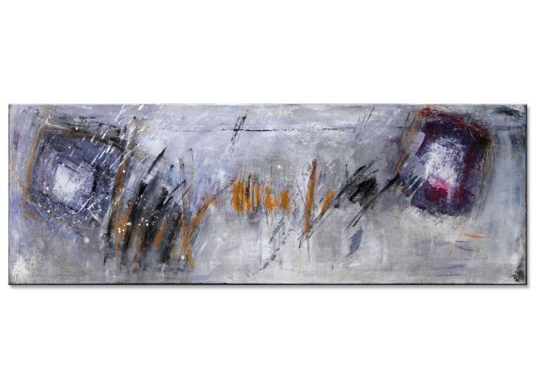 Flüchtige Gedanken abstrakte kunst informel panorama