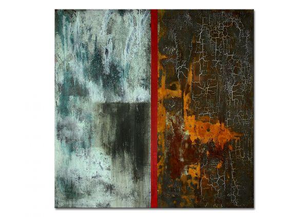 Gemälde mit Rost