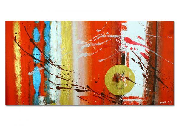 """Cup of Tea"" - modernes Wandbild - abstraktes Kunst"