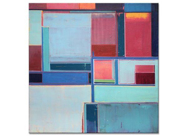 Ocean Blue Malerei abstrakt bunt