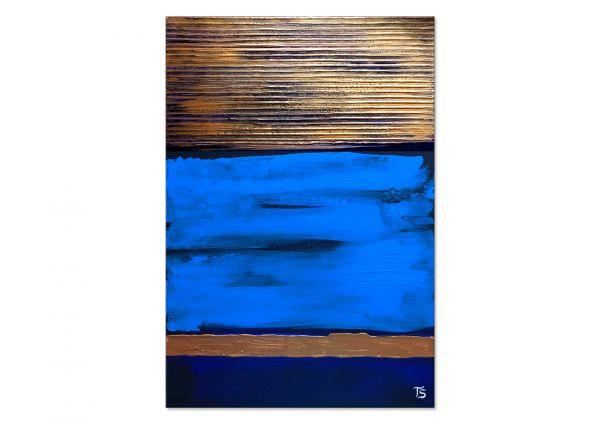 "Moderne Malerei ""Blaue Lumineszenz"""