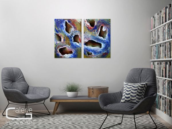 """""""Erinnerung"""" - modernes Gemälde - zeitgenössische Kunst"""