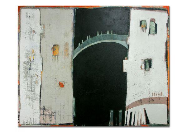 Malerei abstrakt Venedig