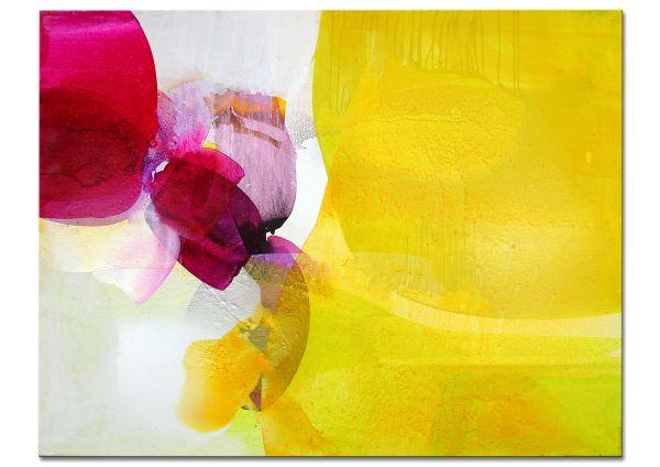 """Abstrakte Kunst handgemalt modern """"Weltengarten VIII"""""""