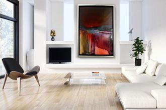 Kunst Wohnideen Wohnzimmer