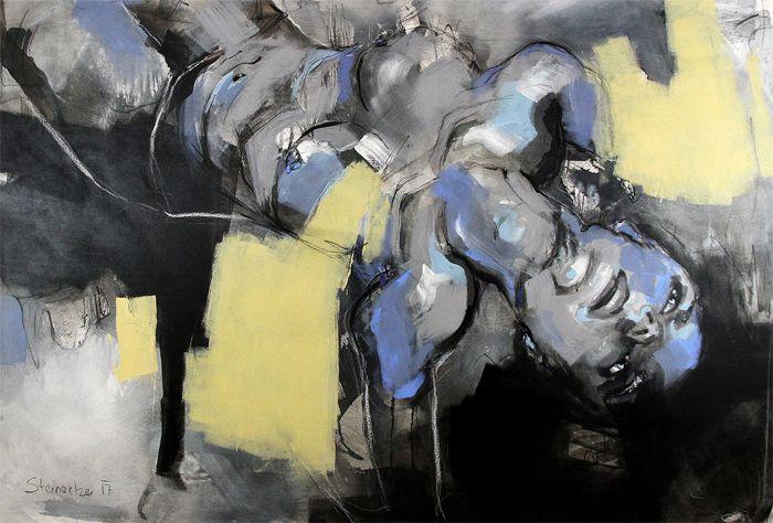 abstrakte Bilder Steinacher Kunst