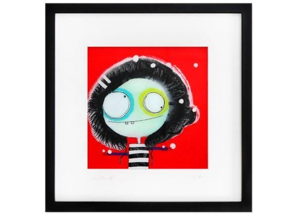 Lätte II Limitierte Kunst Edition Serie signiert Rendle Fineartprint