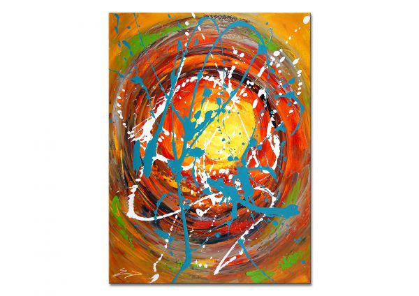 "Kunst abstrakt in Acryl, Etienne Donnay: ""Ambrosia III"""