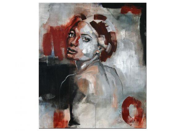 """Bildende Kunst, Originalgemälde von M.Steinacher: """"Lady I"""""""