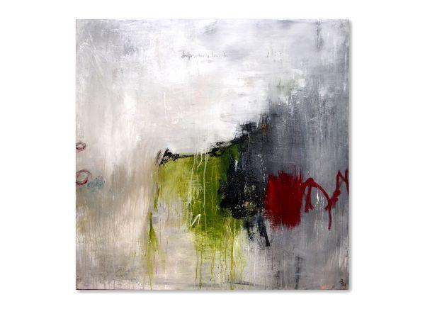 Unikat Gemälde abstrakt zwielicht informelle Malerei