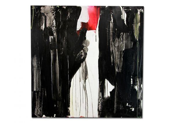 """Modernes Acrylgemälde, Conny Wachsmann: """"Die Liebe wird kommen"""""""