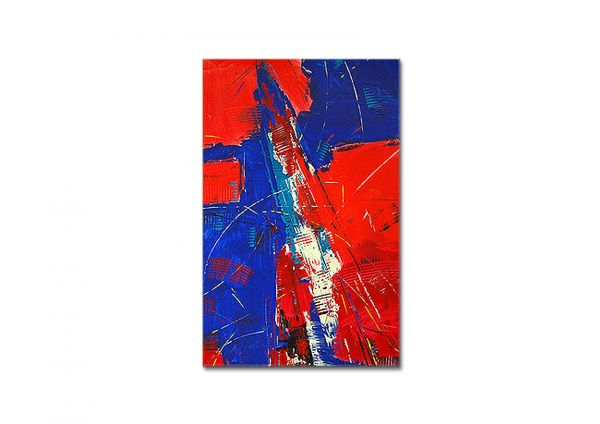 "Abstrakte Metropole ""Manhattan"" Original Acryl, originelles Gemälde"
