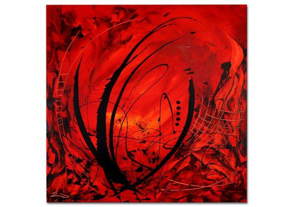 "modernes Gemälde, Etienne Donnay: ""Red Velvet"""