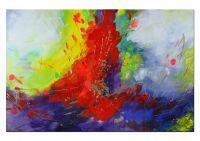 """Abstrakte Kunst """"Synthese"""" von Lydia Schade"""