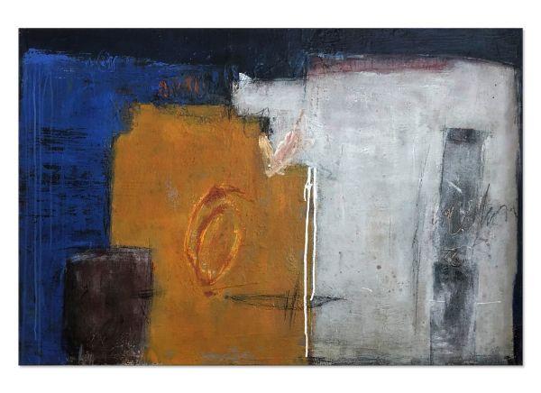 "abstrakte Wandbilder ""Häuserfront"""