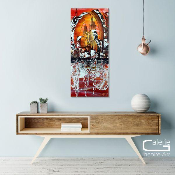 """Abstrakte Kunst, E. Donnay: """"Gedankensplitter"""" (MVZ)"""