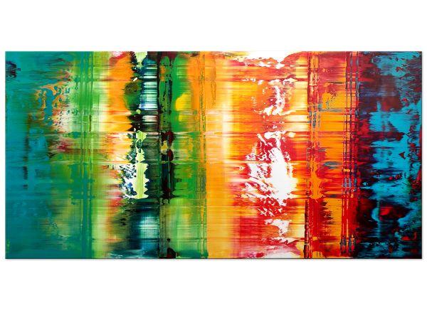"""Scrunity"" expressionistisches Acryl Gemälde"